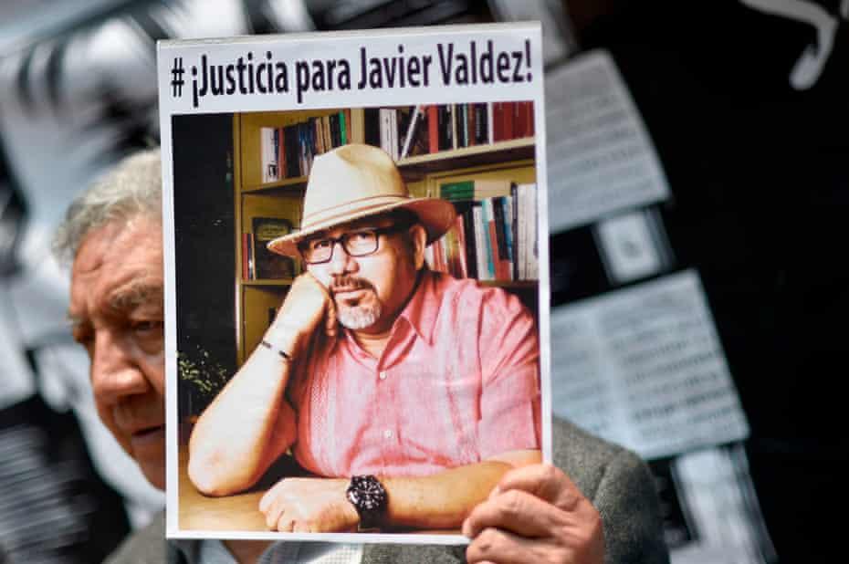 Javier Valdez, a Mexican journalist, was murdered in 2017.