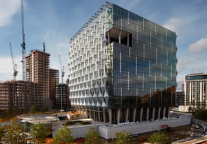The new US embassy
