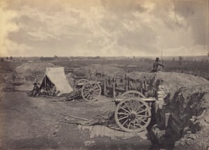 Rebel Works in Front of Atlanta, Georgia, 1866.