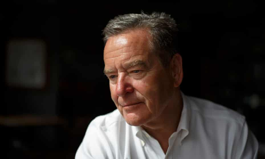 Jeff Stelling, pictured at a pub in Winchester