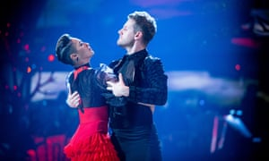 Karen Hauer and Chris Ramsay do a Geordie paso doble.