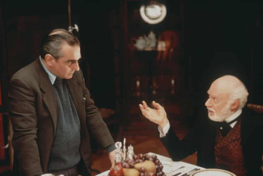 Martin Scorsese and Norman Lloyd, The Age Of Innocence (1993).