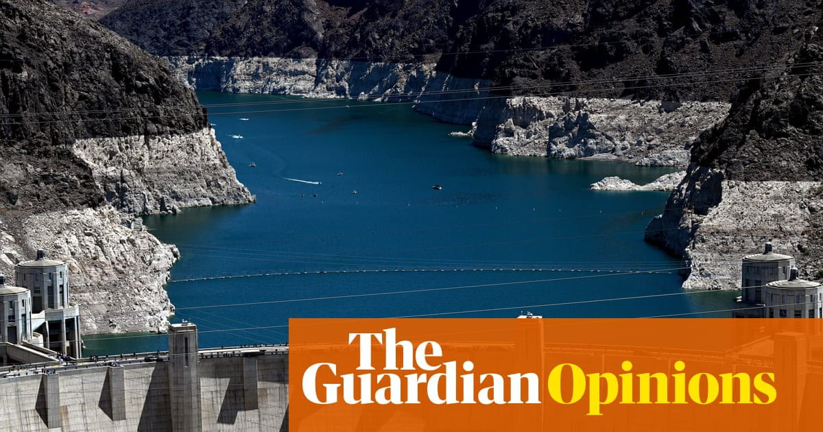 The American south-west is running out of water. We've known this would happen for years