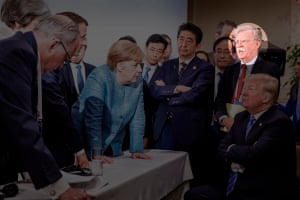 """""""That G7 picture of Merkel and Trump"""""""