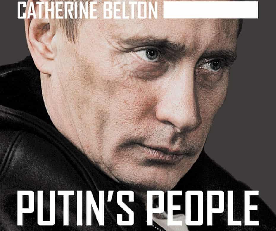 cover of Catherine Belton's Putin's People