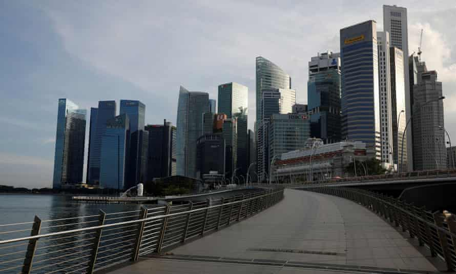 Singapore's skyscrapers were built on migrant labour.