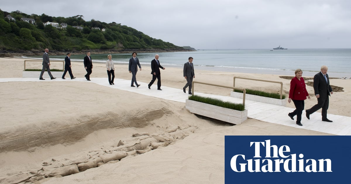 No 10 says G7 summit not to blame for rise in Cornwall's Covid cases