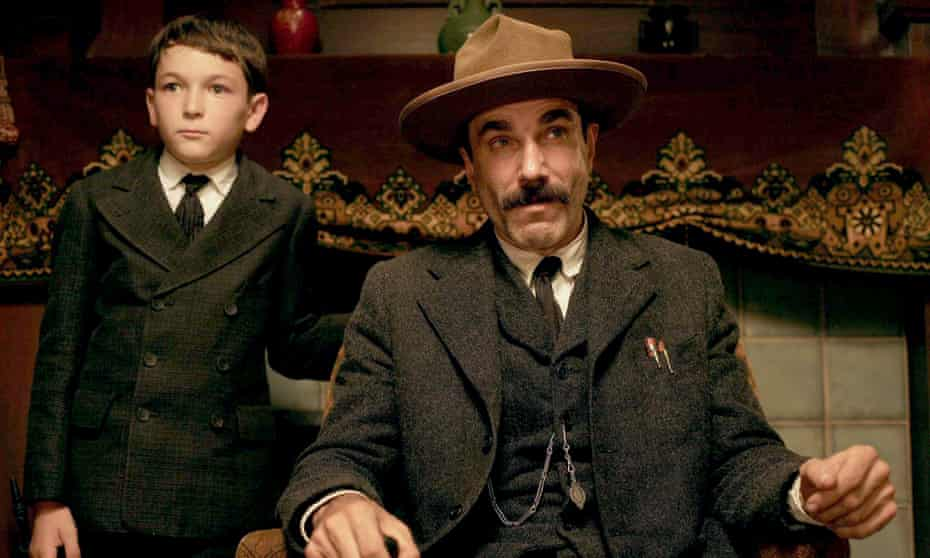 Dillon Freasier and Daniel Day-Lewis in 2007's There Will Be Blood.