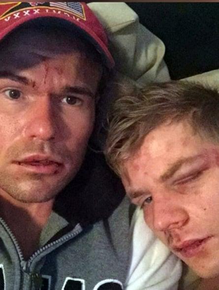 Victims Phil Poole and Zbynek Zatloukal