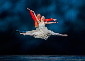 London, England. A preview of the Nutcracker at the Royal Opera House