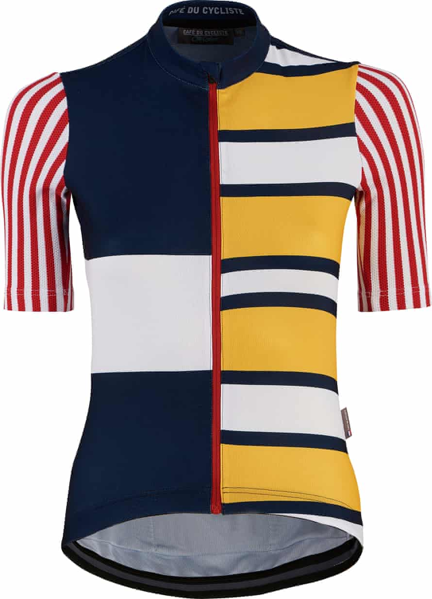 Race for the sunshine: French seaside colours in this new jersey from Café du Cycliste