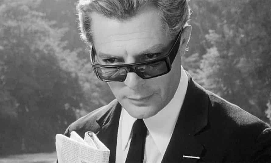 Marcello Mastroianni in the 1963 film 8 ½.