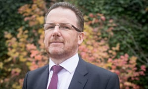 Ray James, new NHS national director of learning disability: 'I am not sure that anger is as productive an emotion for this phase as quiet determination.'