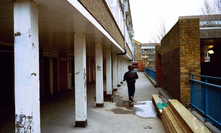 The North Peckham estate, London.