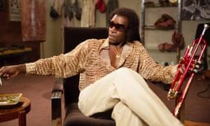 A generous performance … Don Cheadle as Miles Davis.