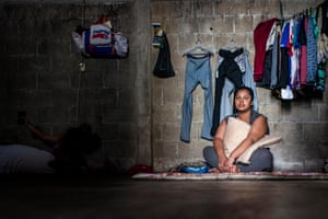 Carla (not her real name), 20, fled Honduras and is currently asking for refugee status in Mexico