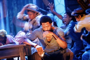 A scene from Porgy & Bess at the Savoy