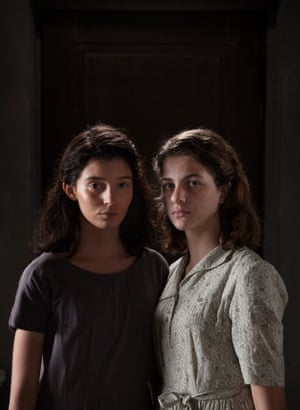Gaia Girace, left, and Margherita Mazzucco play Lila and Elena as teenagers in My Beautiful Friend