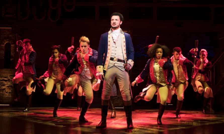 Jamael Westman plays Alexander Hamilton in the West End production of Hamilton.