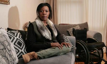 Anne Wafula Strike at her home