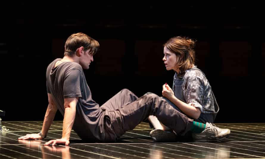 Matt Smith and Claire Foy in Lungs.