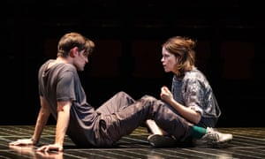 Matt Smith and Claire Foy in Duncan Macmillan's Lungs at the Old Vic.