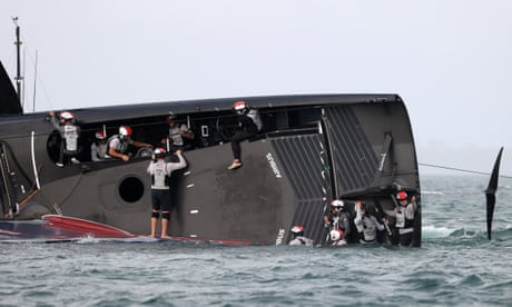 America's Cup: Team New Zealand thanked for role in dramatic rescue