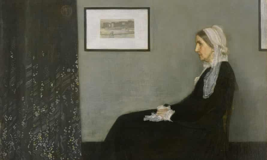 Portrait of the Artist's Mother by James Abbott McNeill Whistler