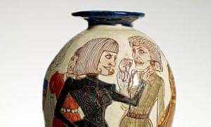 Glazed ceramic by Grayson Perry.