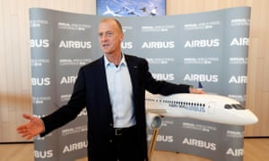 The Airbus chief executive, Tom Enders.