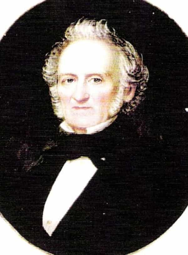 James Graham (1789-1860), Alex Renton's fourth great-grandfather, who owned two slaves