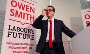 Owen Smith speaking at the Knowledge Transfer Centre in Catcliffe, South Yorkshire