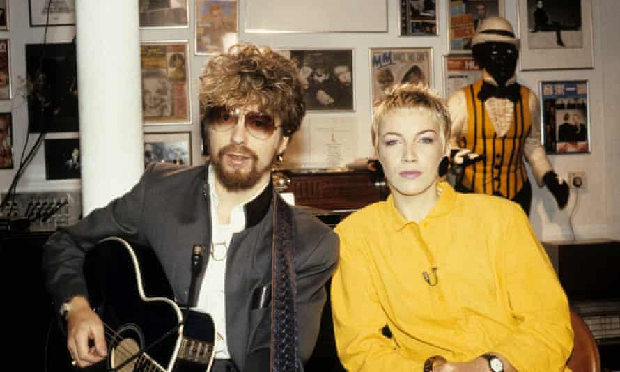 'We split up as a couple but kept on with the music' ... Dave Stewart and Annie Lennox