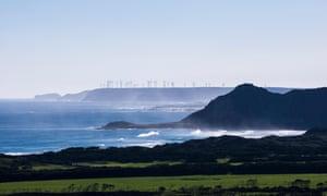 Woolnorth wind farm in Tasmania