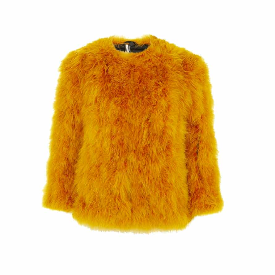 The fluffier the better. Jacket, £150, Topshop.