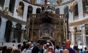 Restoration work on Christ's tomb is expected to take up to a year but pilgrims and tourists will be able to continue to visit the holy site