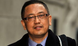 Coll Kumar Lama at the Old Bailey in London in February 2015