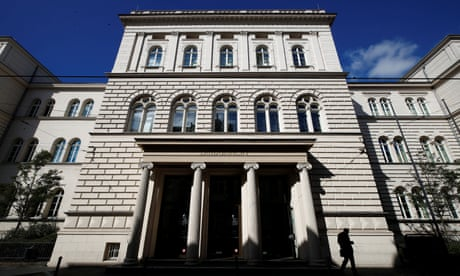 'The men who plundered Europe': bankers on trial for defrauding €447m