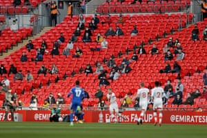 Fans allowed back inside Wembley