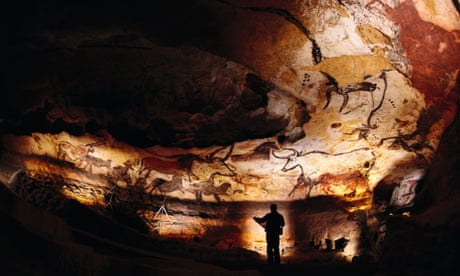 'Humans were not centre stage': how ancient cave art puts us in our place
