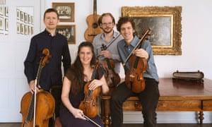 The London Haydn Quartet.