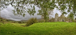 """Pendragon Castle, Mallerstang – now part of the Yorkshire Dales""""One of the new bits to the Dales pie."""""""
