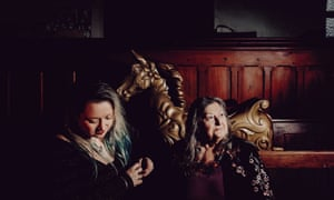 Broadminded and spellbinding … Eliza Carthy and Norma Waterson.