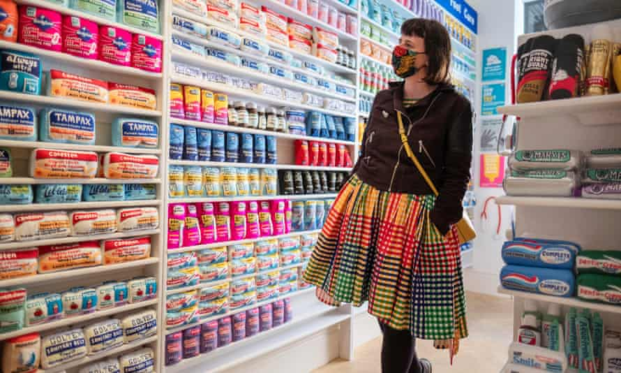 Lucy Sparrow's Bourdon Street Chemist, where everything is made of felt, at Lyndsey Ingram gallery as part of the West End Gallery Hop.