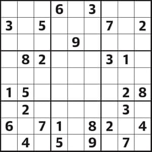 Sudoku 4,527 hard | Life and style | The Guardian