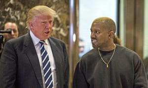 Dragon brothers? West with Donald Trump, 2016.