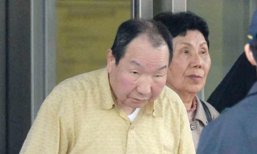 Iwao Hakamada, pictured in 2014, when he was released from prison.
