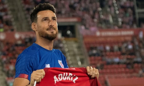 Aritz Aduriz announces retirement and says he will have to get prosthetic hip