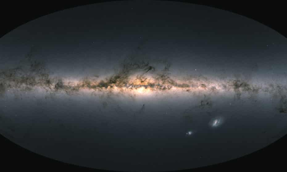 Data gathered from the European Space Agency's Gaia observatory