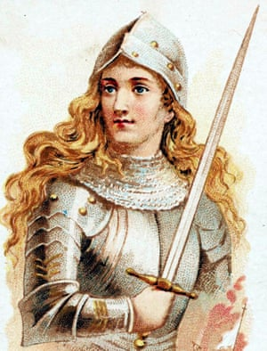 Illustration of Joan of Arc, (c1412-1431).